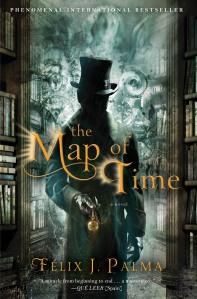 """Portada americana """"El Mapa del Tiempo""""."""