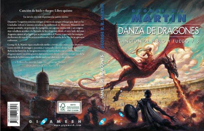 Canción de Hielo y Fuego V - Danza de Dragones